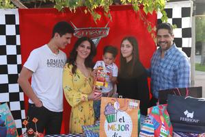 19032021 Familiares y amigos celebraron los dos años de vida del pequeño Ernesto Reyes.