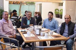 20032021  Mario García, Francisco Malacara, Jesús Malacara y José Antonio Soriano.