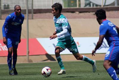 Ayrton Preciado vuelve a marcar en victoria de Santos Sub-20 ante Cruz Azul