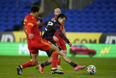 Sin Gareth Bale de titular, Gales vence a México en partido amistoso