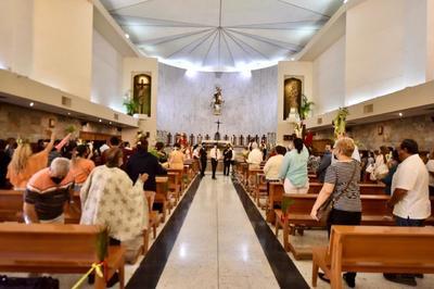 Celebran Domingo de Ramos en Torreón