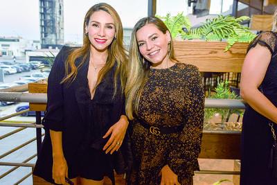 Alejandra Díaz y Zaira Padilla.
