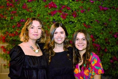 Paulina, Estefanía y Ariana Fonseca.