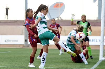 Triunfan Guerreras del Santos Laguna 2-1 sobre Cruz Azul en Liga MX Femenil