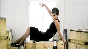30032021 ICÓNICA.  Audrey Hepburn marcó una tendencia a partir de su vestuario en 'Breakfast at Tiffany's'.