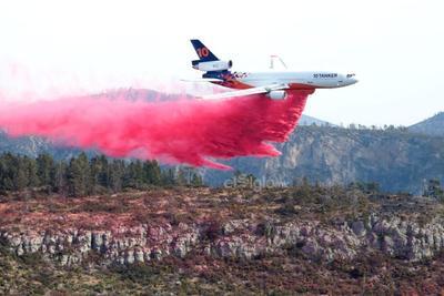 Hasta el momento se estiman más de 10 mil hectáreas afectadas por este incendio que inicio hace 15 días.