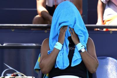 Naomi Osaka pierde su buena racha ante Maria Sakkari en Miami