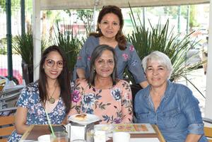 01042021 María Valdés, Socorro Solís, Hortencia Morales y Silvia García.