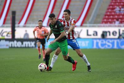 Santos Laguna empata ante Chivas en el Akron