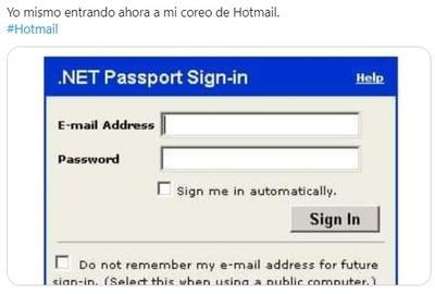 Usuarios de Hotmail se enteran que ya no están jóvenes y surgen los memes