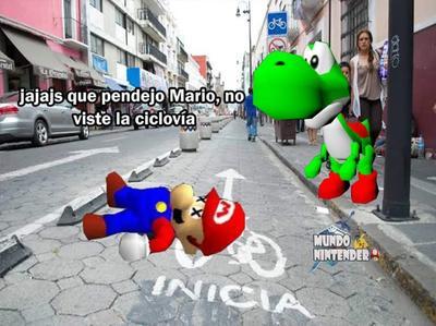 'Separador vial contra peatones'; ciclovía de Puebla genera ola de memes
