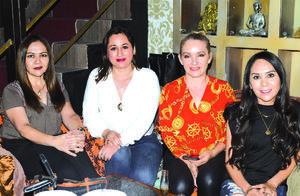 09042021 Sandy Gómez, Laura Arlequín, Eva Gutiérrez y Mary Zúñiga.
