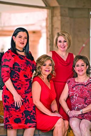 10042021 Magaly Gilio, Cecy González, Mary Carmen Barrientos y Paty Cabello.
