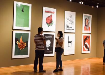 Exposición 16 BICM  Exposición 16 BICM Décima Sexta Bienal Internacional del Cartel en México Museo Arocena
