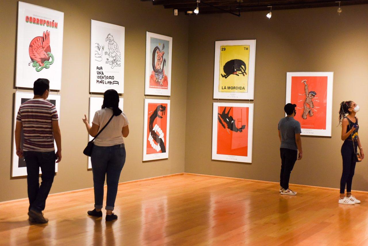 Arte gráfico en la Bienal Internacional del Cartel