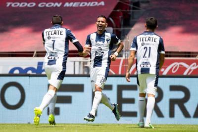 Vegas y Meza le dan victoria al Monterrey ante Toluca