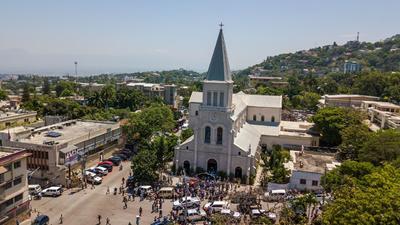 Protestan contra secuestros en Haití