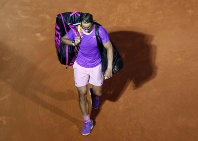 Rafael Nadal es eliminado de Masters de Montecarlo en cuartos de final