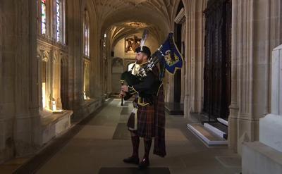 Funeral del príncipe Felipe en la capilla de San Jorge