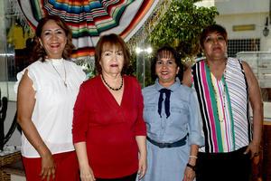 19042021 Blanquita Corona, Rosario Romo, Graciela Rodríguez y Aida Sánchez.