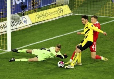 Reus enmienda a Haaland en triunfo del Dortmund ante Union Berlín