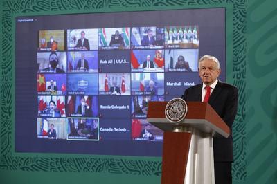 Participa AMLO en Cumbre de Líderes sobre el Clima