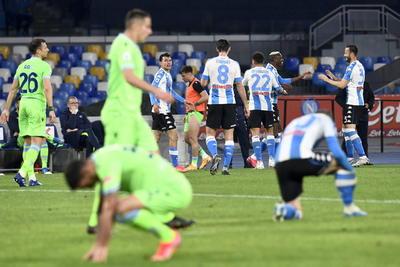 El Nápoles aplasta al Lazio en Serie A