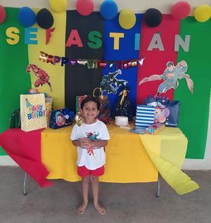 23042021 El pequeño Sebastián cumplió otro año más de vida.