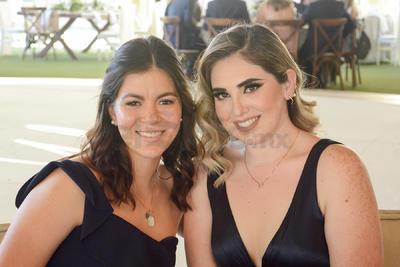 Sofía y Vianey.