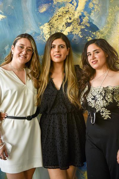 Cristina Bada,Paloma Rocha y Cecilia Menéndez.