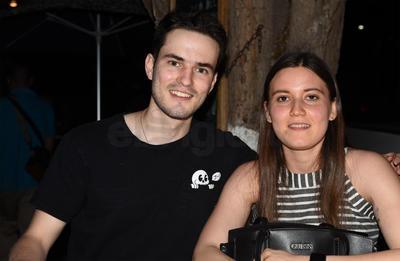 David y Fernanda.