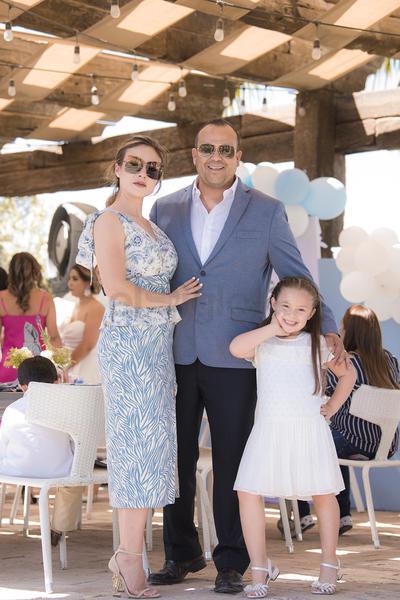 Ale Urby Castro, FermÍn Cuellar Muller con su hija Elisa.