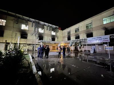 Suspenden a ministro de Salud en Irak tras explosión en hospital COVID que dejó 82 muertos