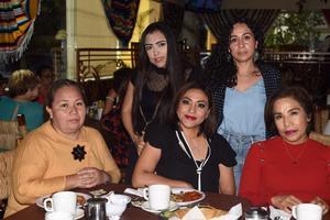 26042021 Eunice Hernández, Heunice Lomas, Yuliana Medina, Geomara García y Luz María Martínez.