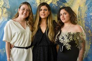 27042021 Cecilia Menéndez, Cristina Bada y Paloma Rocha.