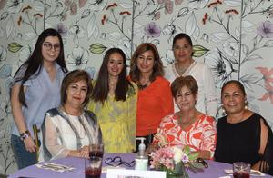 27042021 Valeria, Gina, Norma Angélica, Norma, 'Coco', Malena y Gretel.
