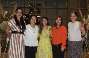 27042021 María Salgado, Guadalupe Kim, Norma Angélica García, Norma Ruíz y Gisela Salgado.