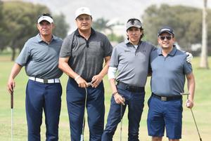 28042021 Luis Alberto Ávila, Emilio Pérez, Vicente Ríos y Gerardo Catsicas.
