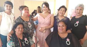 01052021 Rosy García, Patricia Resendis, Mary Paz Escobar, Raquel Zamora, Rosy Silva, Norma Martínez.