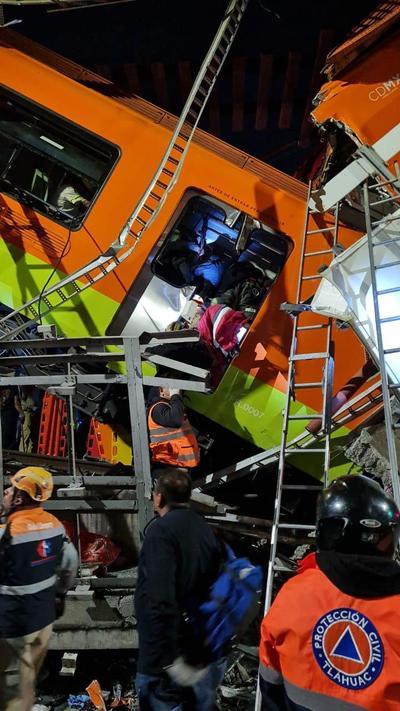 El pasado 9 de enero se produjo un incendio en el centro de control del metro de la Ciudad de México, en el Centro Histórico, que causó un muerto y al menos 30 trabajadores intoxicados, además de seis líneas sin servicio.