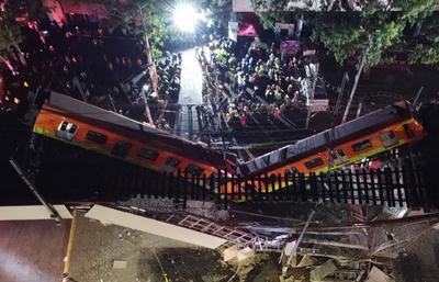 Colapsa Línea 12 del Metro en CDMX