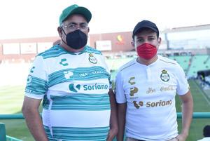 04052021 Jesús Leonel García y Leonel García Reyes.