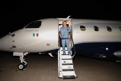 Saúl 'Canelo' Álvarez llega a Texas para enfrentar a Joe Saunders