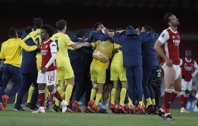 Villarreal elimina al Arsenal y es finalista de Europa League