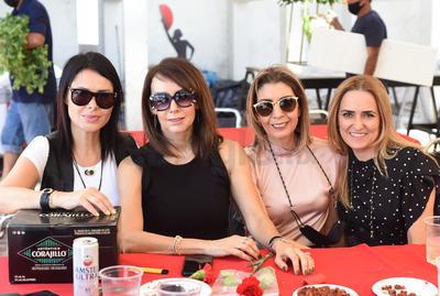 Verónica, Katia, Marcela y Liliana.