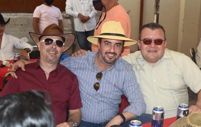 Jacobo, Alfredo y Miguel.