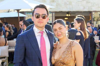 Michel y Eloisa.