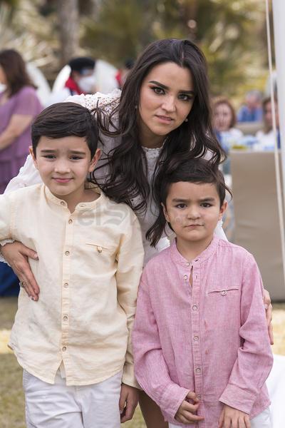Diego, Daniel y Daniela.