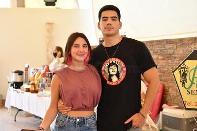Miguel y Raissa.