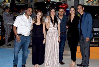 Jorge Mata, Claudia González de Mata, Claudia y Gerardo del Castillo, Estefania de Gómez y Carlos Gómez.